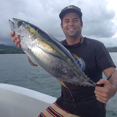 Tuna can be kept, cleaned, and cooked for you after your Costa Rica Reef Adventures Tour.